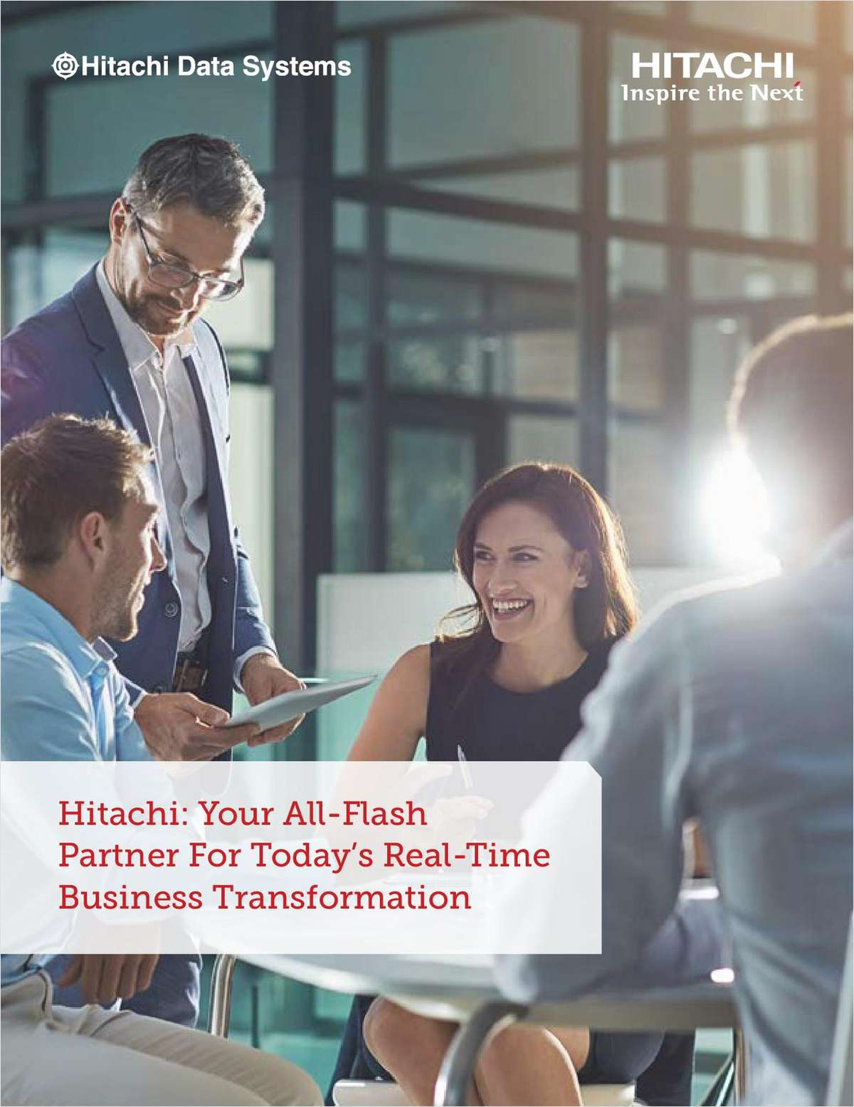 Your All-Flash Partner for Today's Real-Time Business Transformation