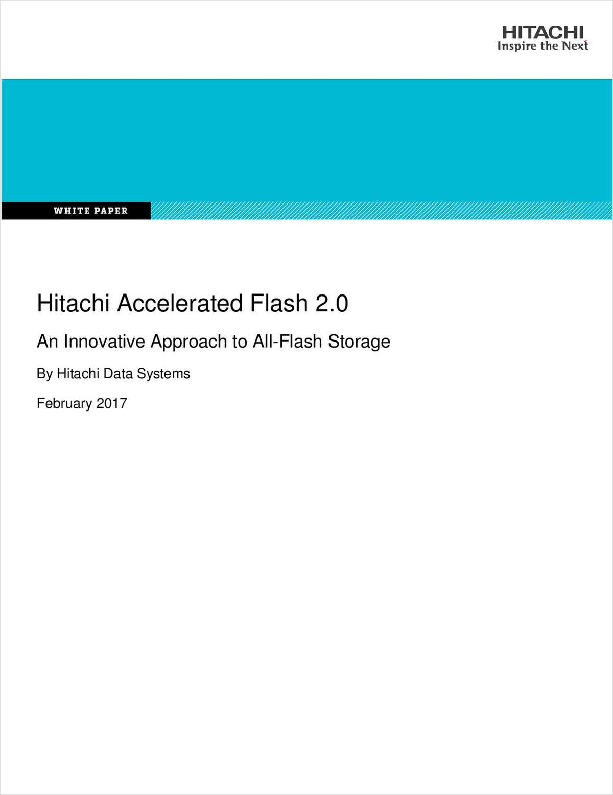 An Innovative Approach to All-Flash Storage