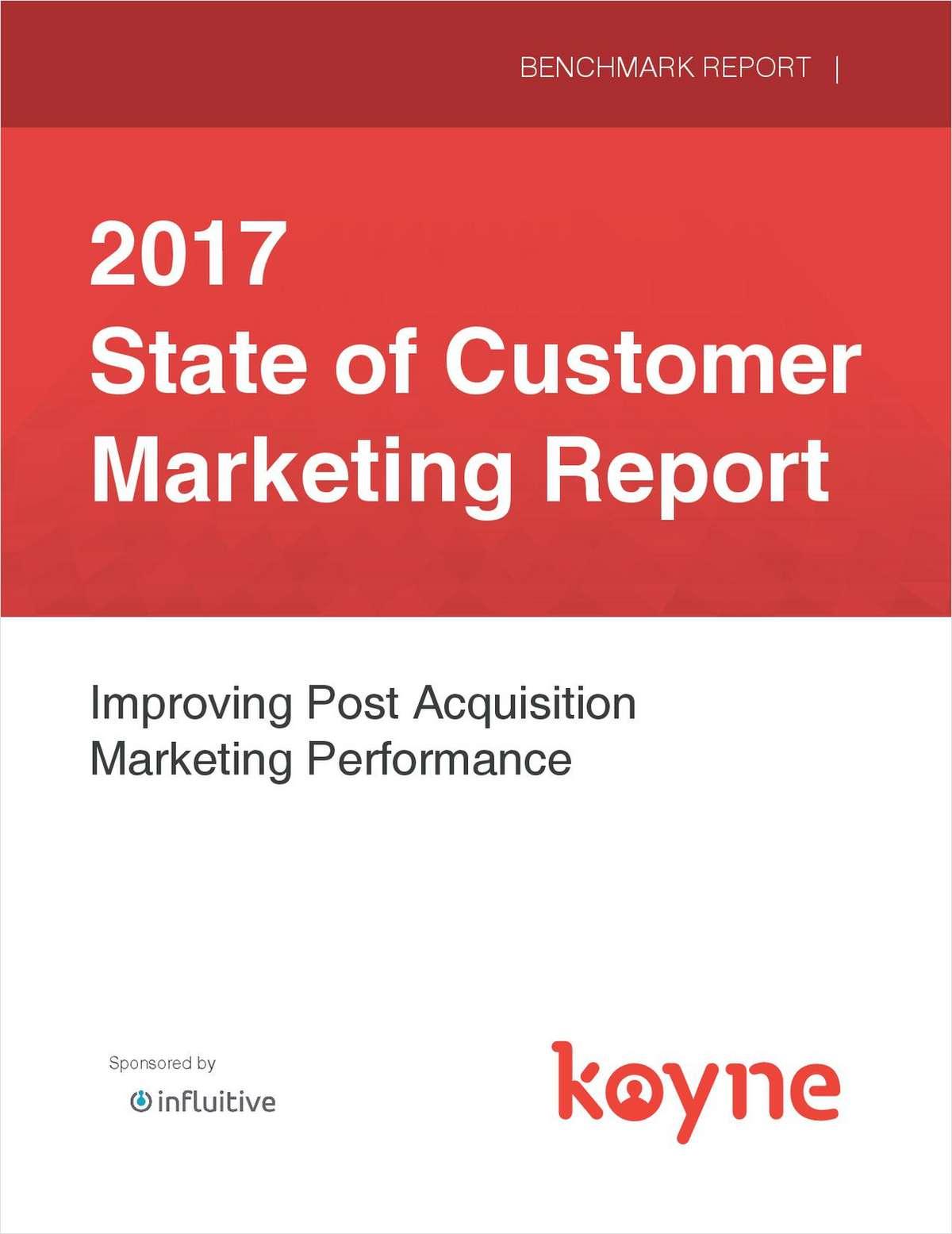 2017 State of Customer Marketing Report