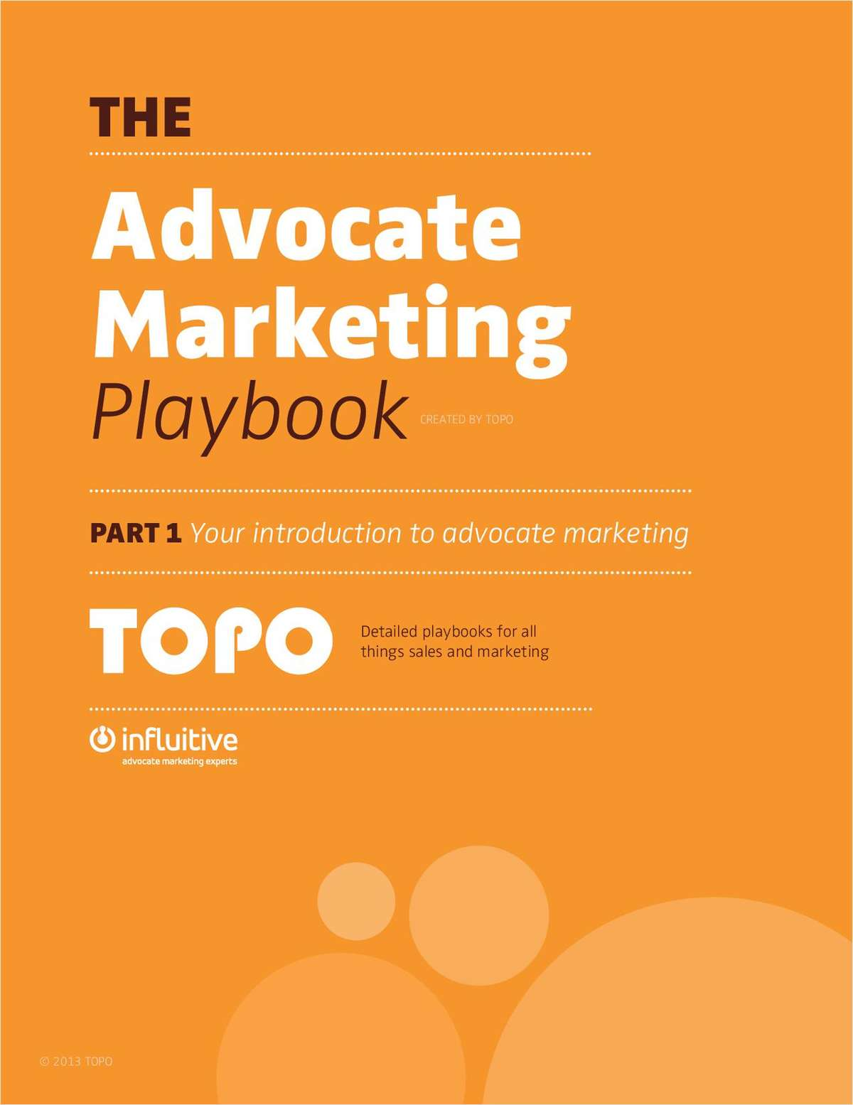The Advocate Marketing Playbook