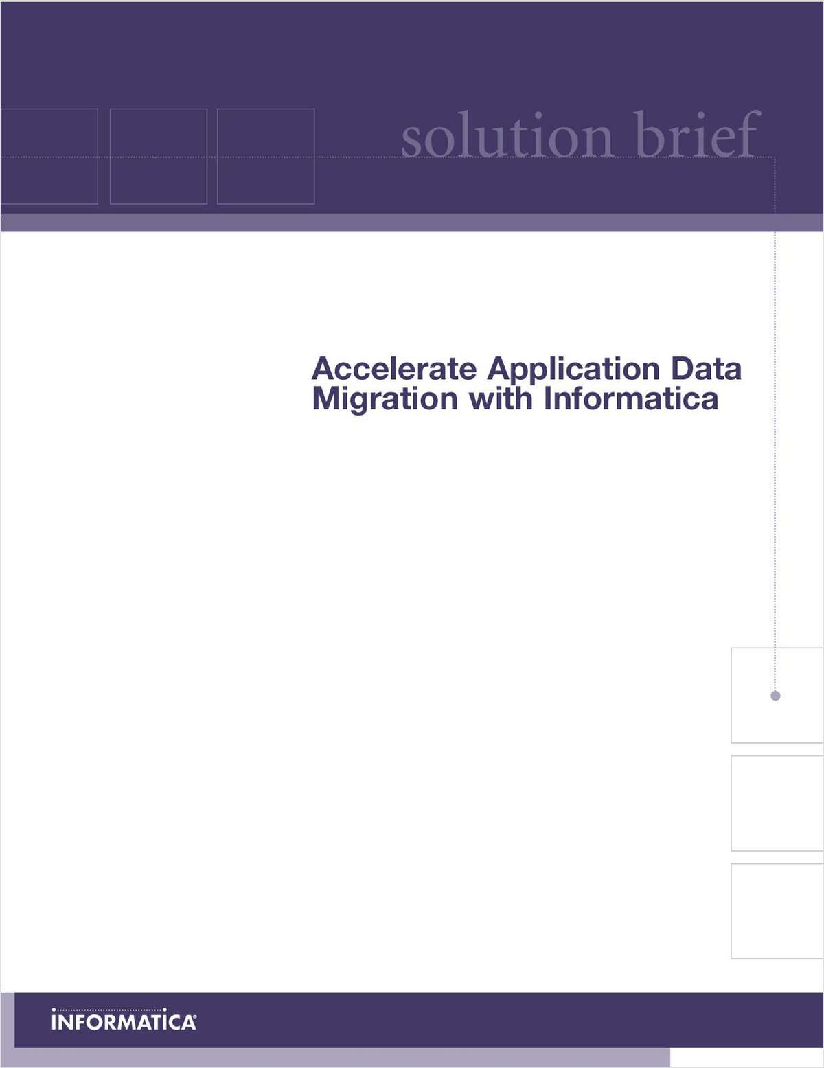 Data Migration Solution Brief