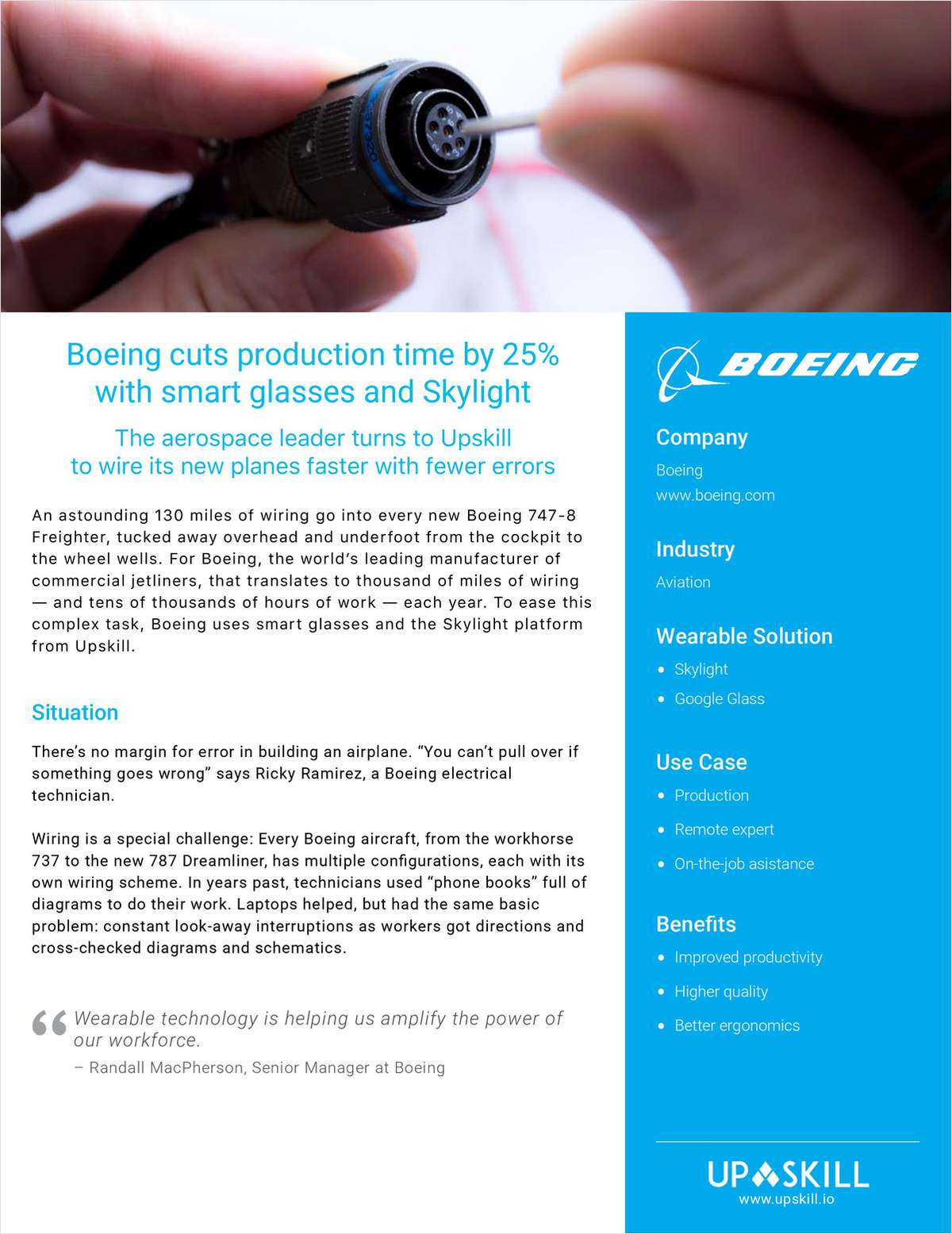 How Boeing Cut Production Time by 25% with Industrial AR Glasses