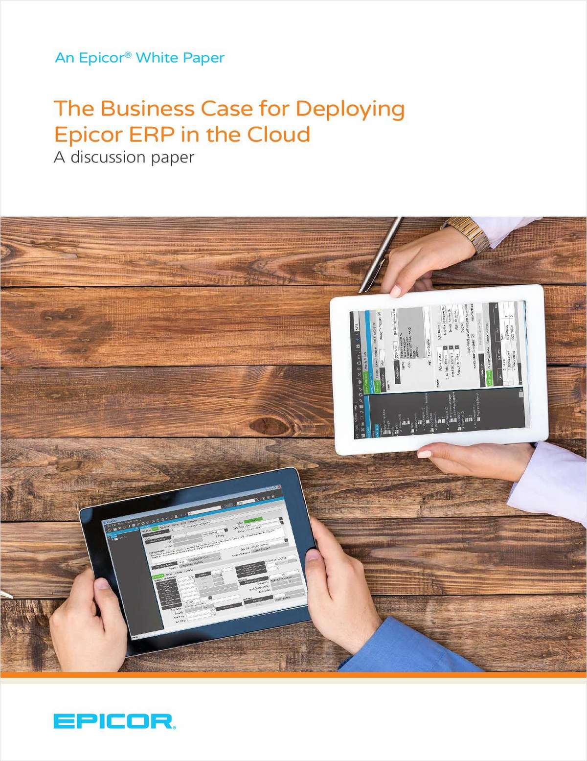 The Business Case for Deploying Epicor ERP in the Cloud