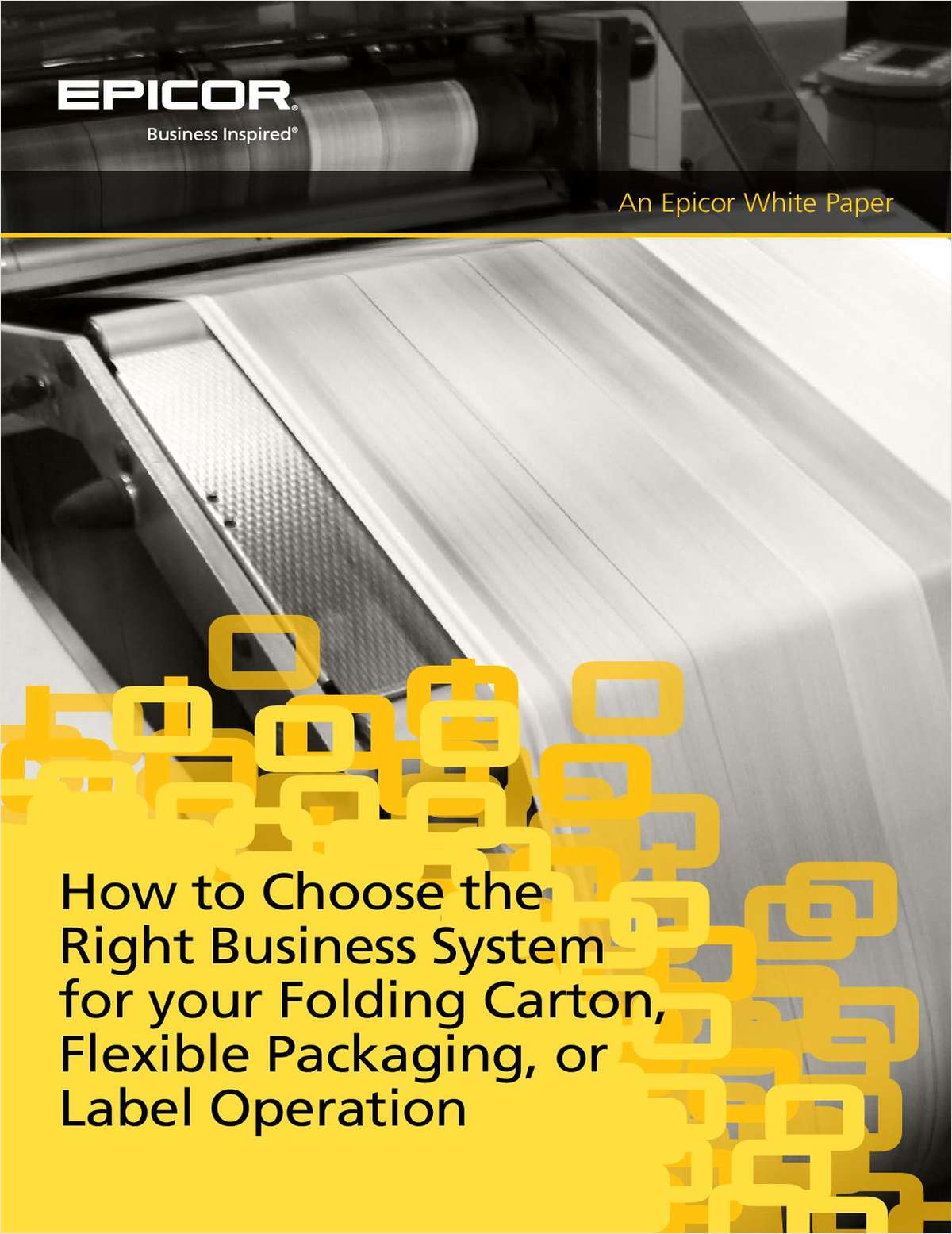 How to Choose the Right Business System for Your Folding Carton, Flexible Packaging, Or Label Operation