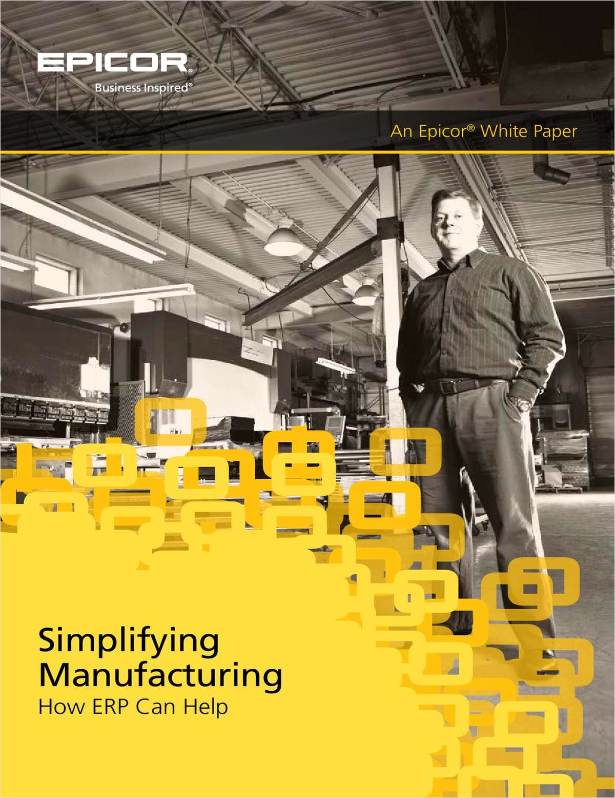 Simplifying Manufacturing. How ERP Can Help