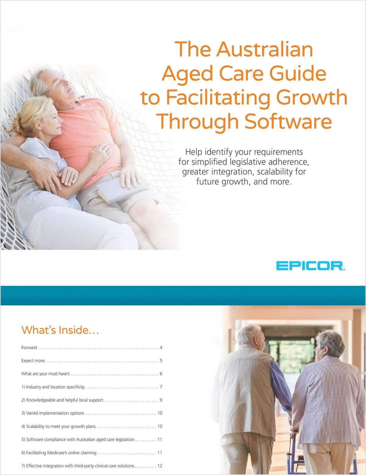 The Australian Aged Care Guide to Facilitating Growth Through Software