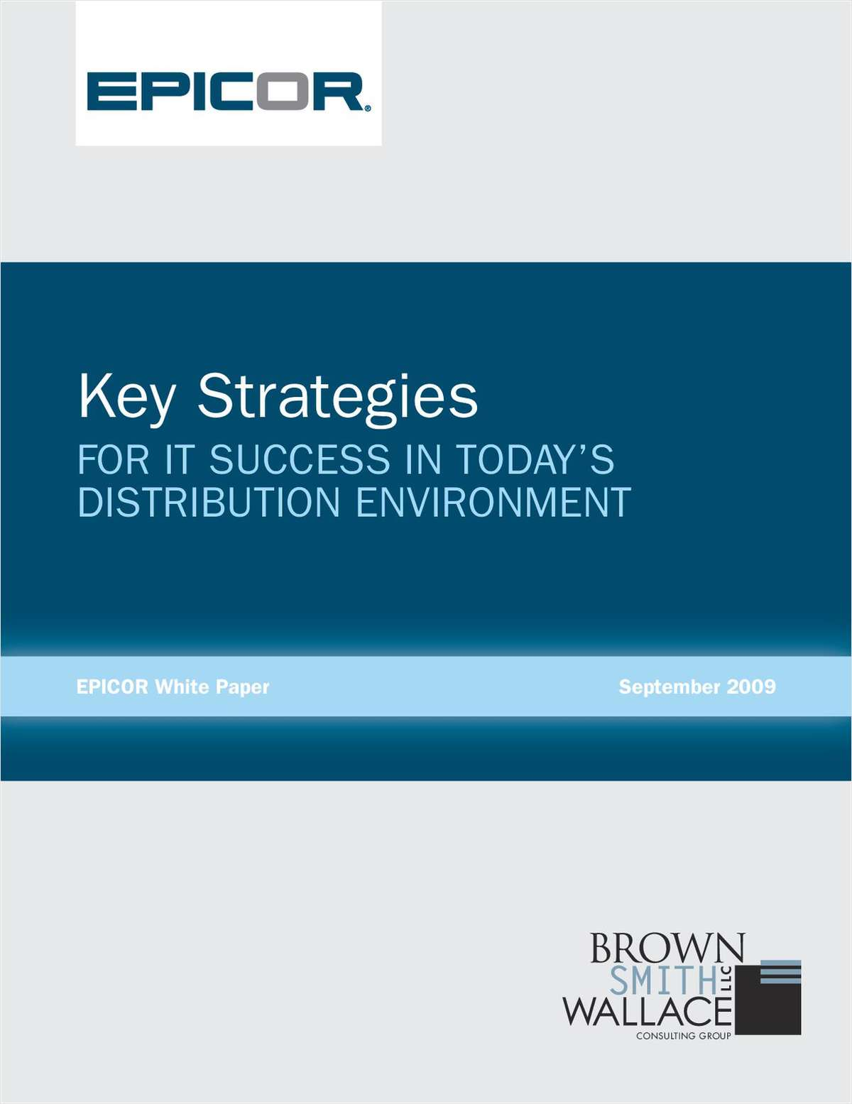 Key Strategies for IT Success in Today's Distribution Environment