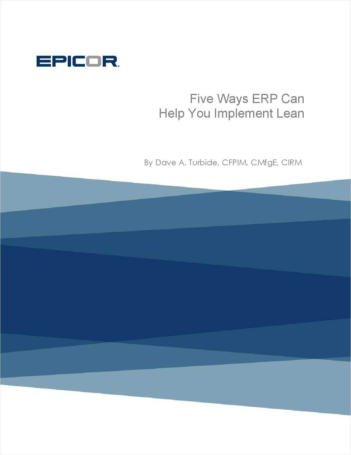 5 Ways ERP Can Help You Implement Lean