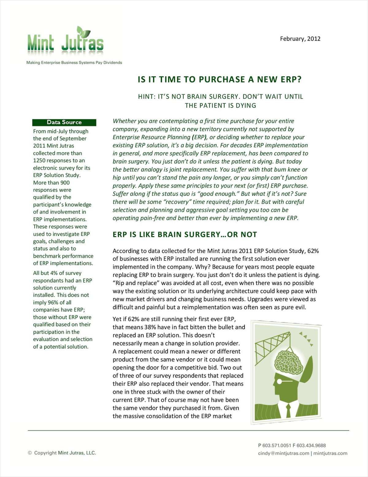 Is It Time to Purchase a New ERP?