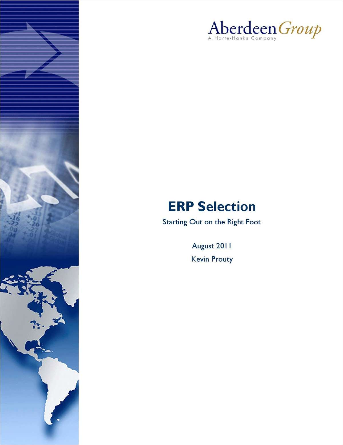 ERP Selection: Starting Out on the Right Foot