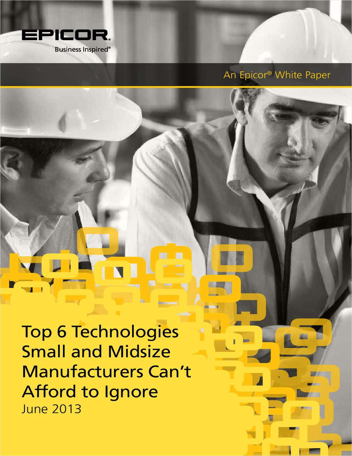 Top 6 Technologies Small and Midsize Manufacturers Can't Afford to Ignore
