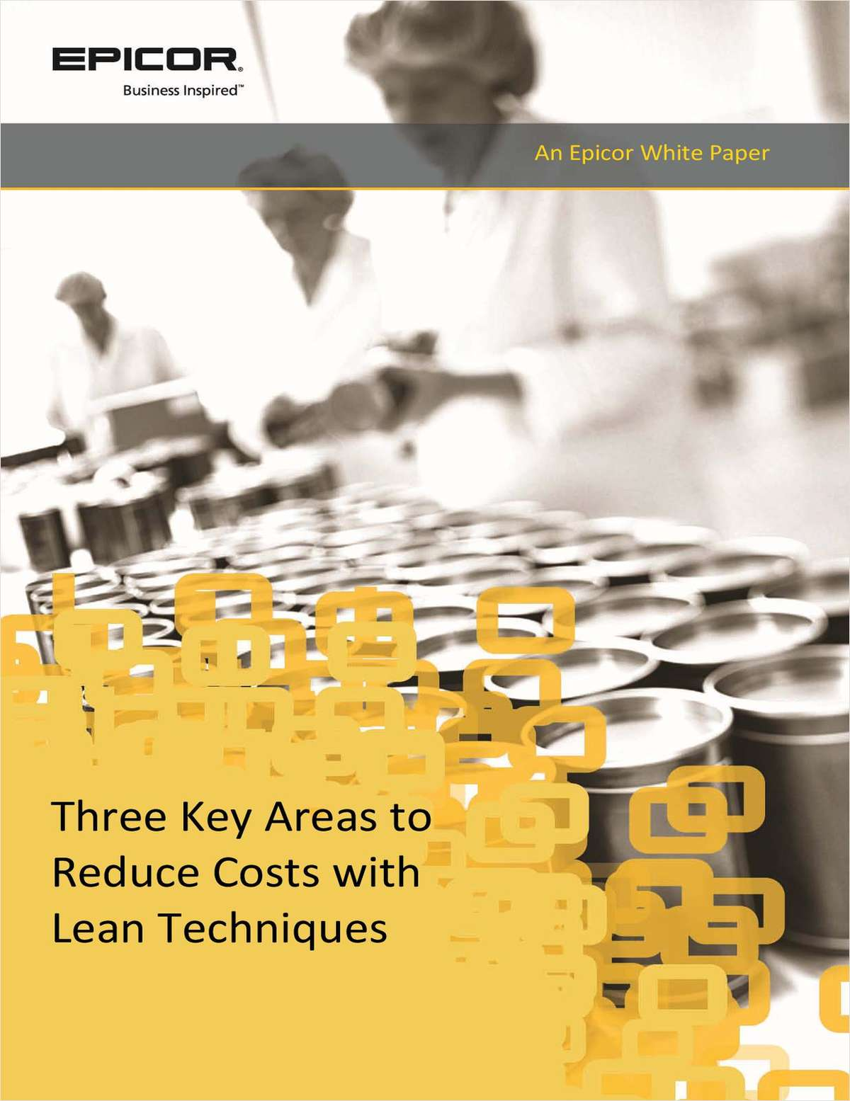3 Key Area's to Reduce Costs with Lean Technologies