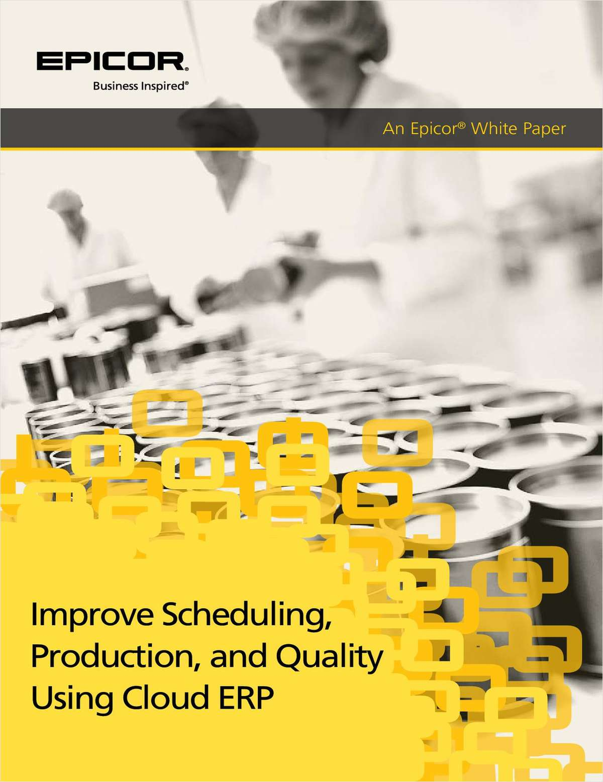 Improve Scheduling, Production, and Quality Using Cloud ERP
