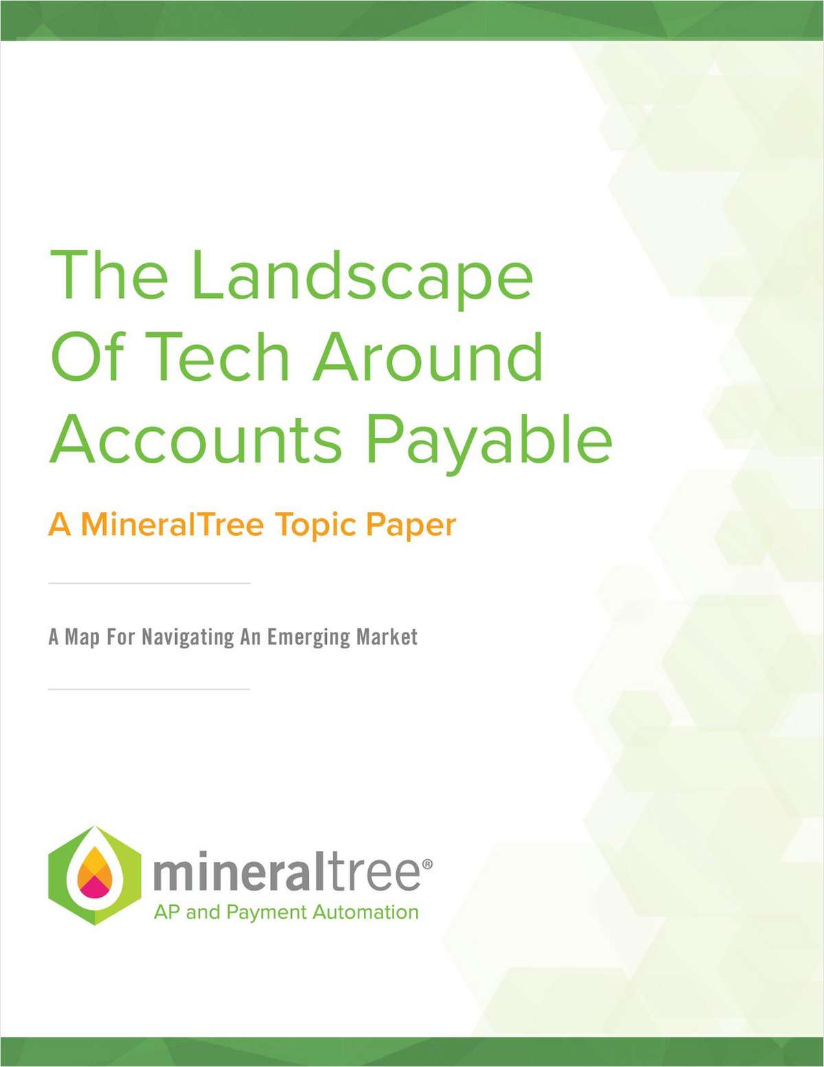 The Landscape of Technologies for Accounts Payable Automation