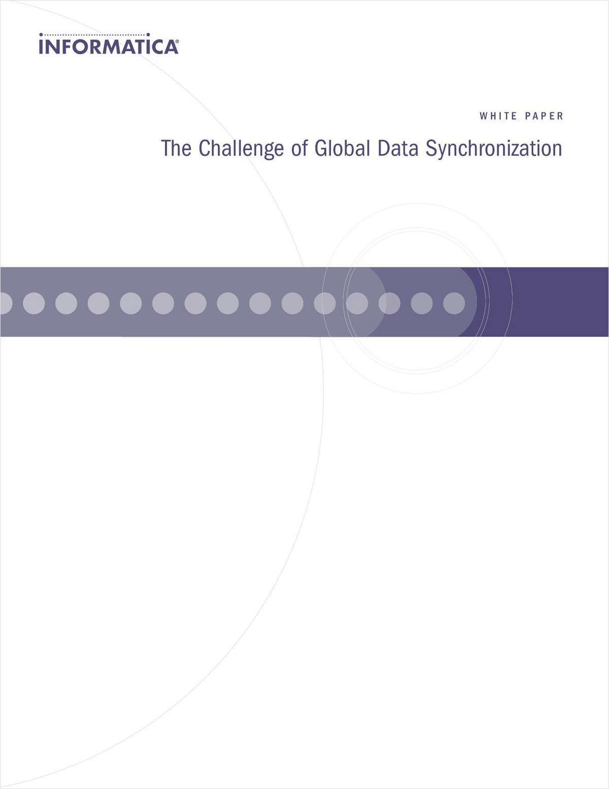 The Challenge of Global Data Synchronization