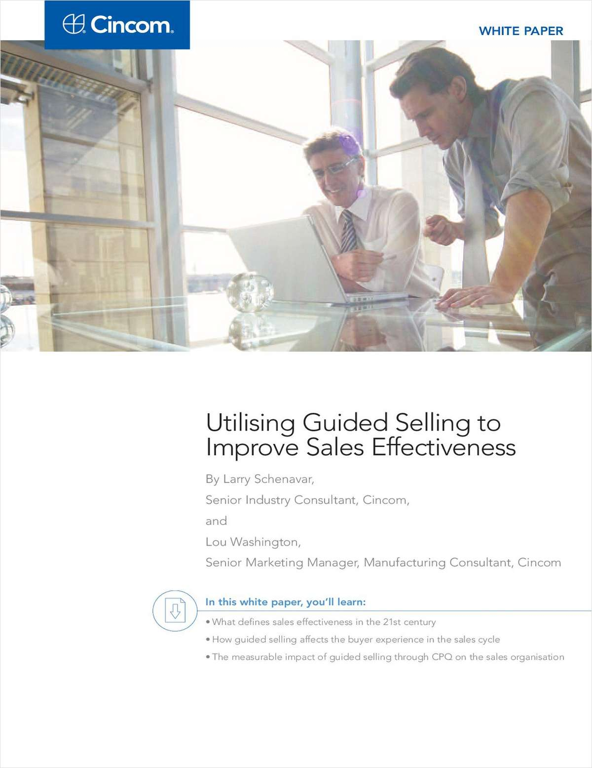 White Paper: Utilising Guided Selling to Improve Sales Effectiveness