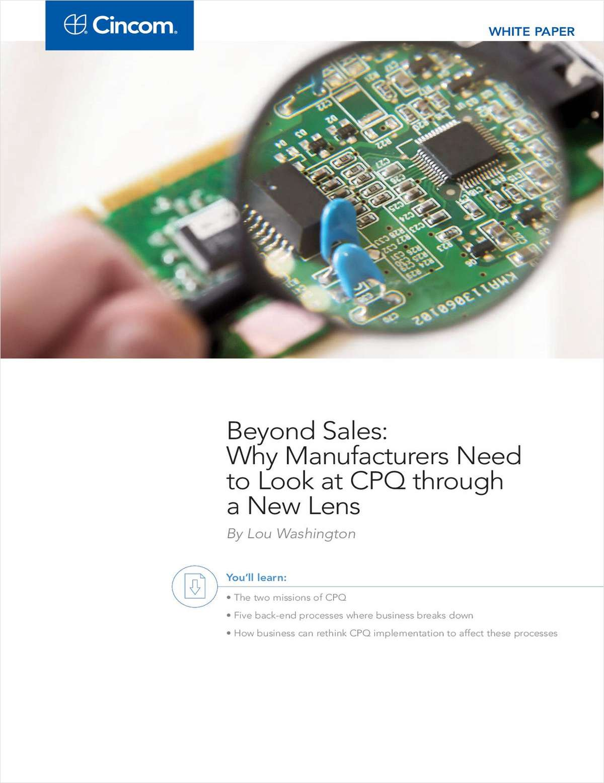 Report: For Manufacturers, 'Configure-Price-Quote' Isn't Just a Sales Challenge...