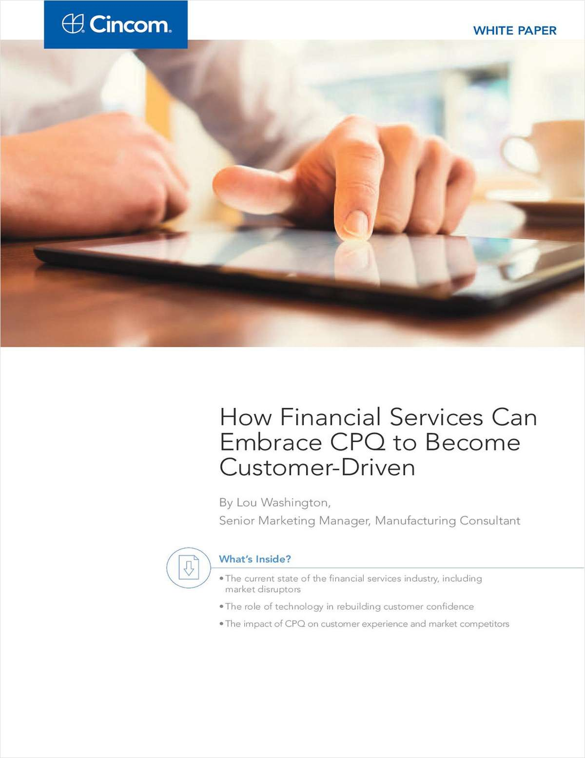 Financial Services: What's the Key to Being Customer-Driven?