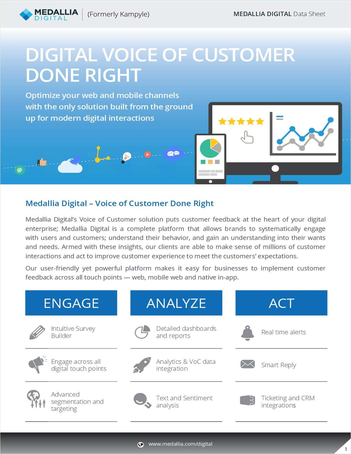 Launch a World-Class Digital Voice of Customer Program - Medallia