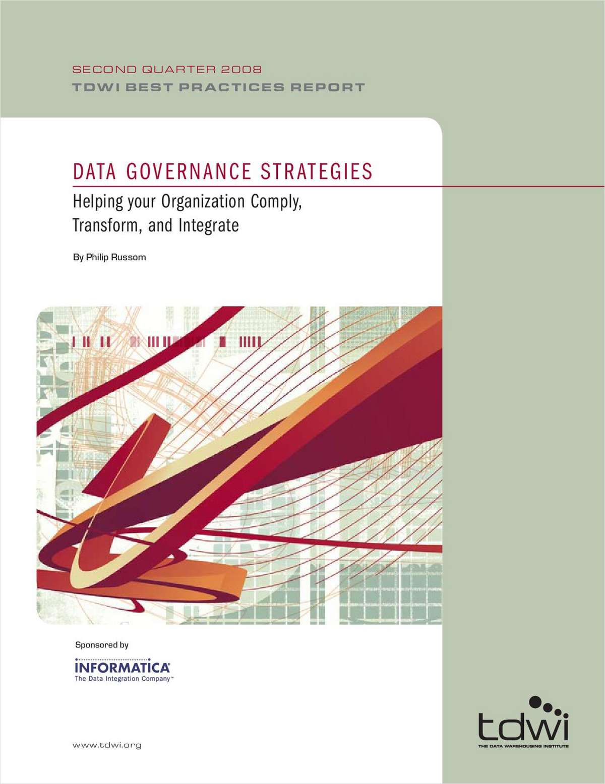 Data Governance Strategies Helping your Organization Comply, Transform, and Integrate
