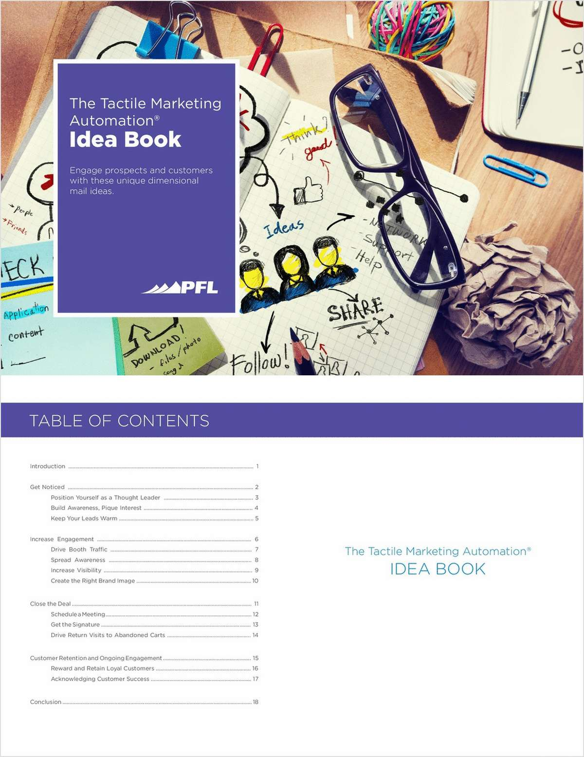 The Tactile Marketing Automation Idea Book