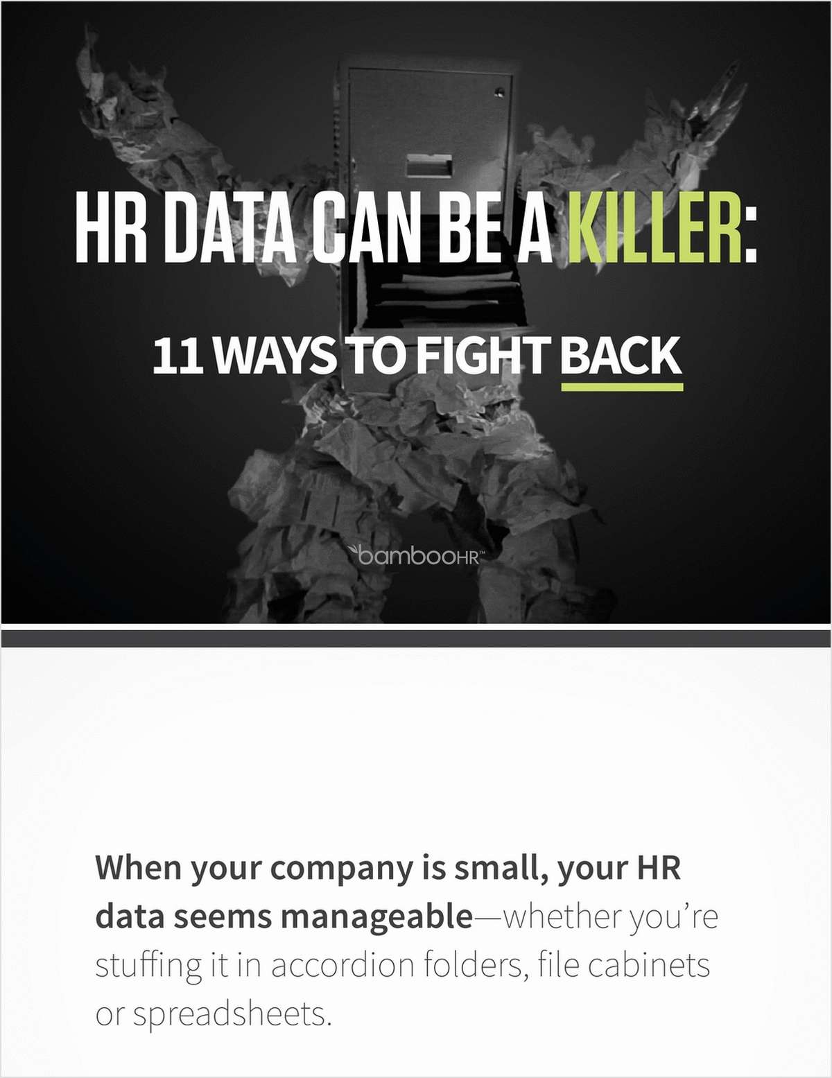 HR Data Can Be A Killer: 11 Ways to Fight Back