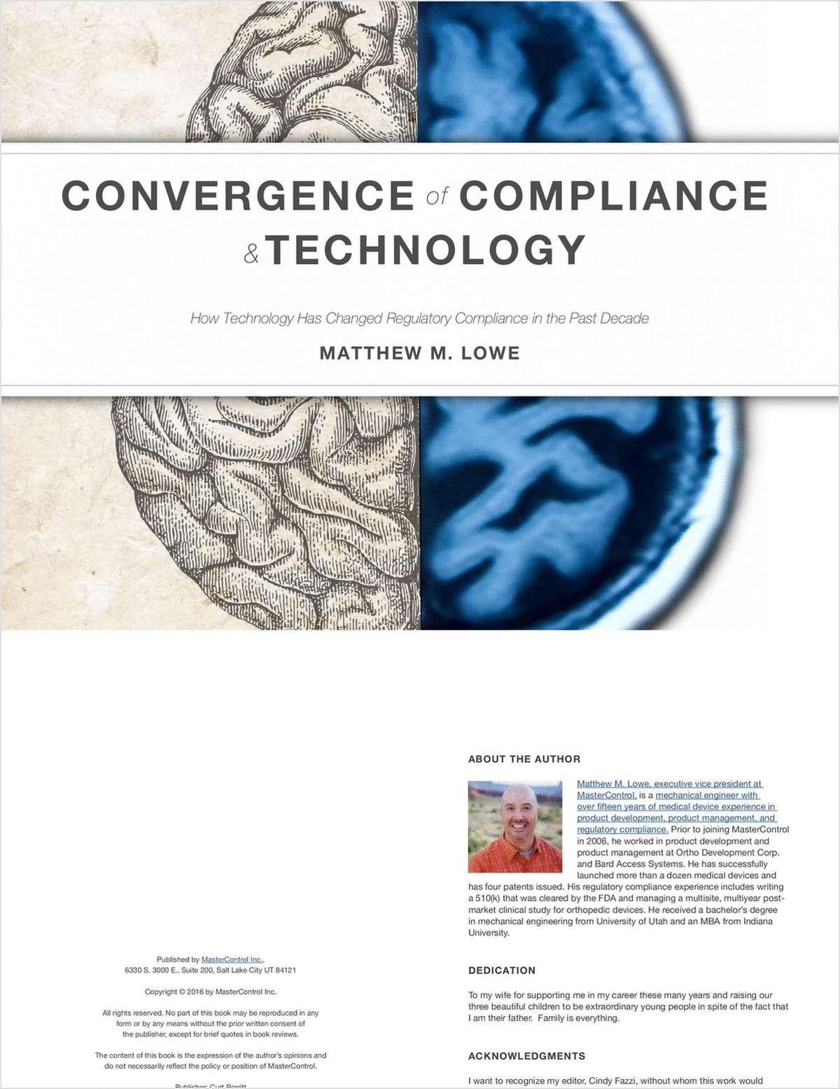 Convergence of Compliance & Technology