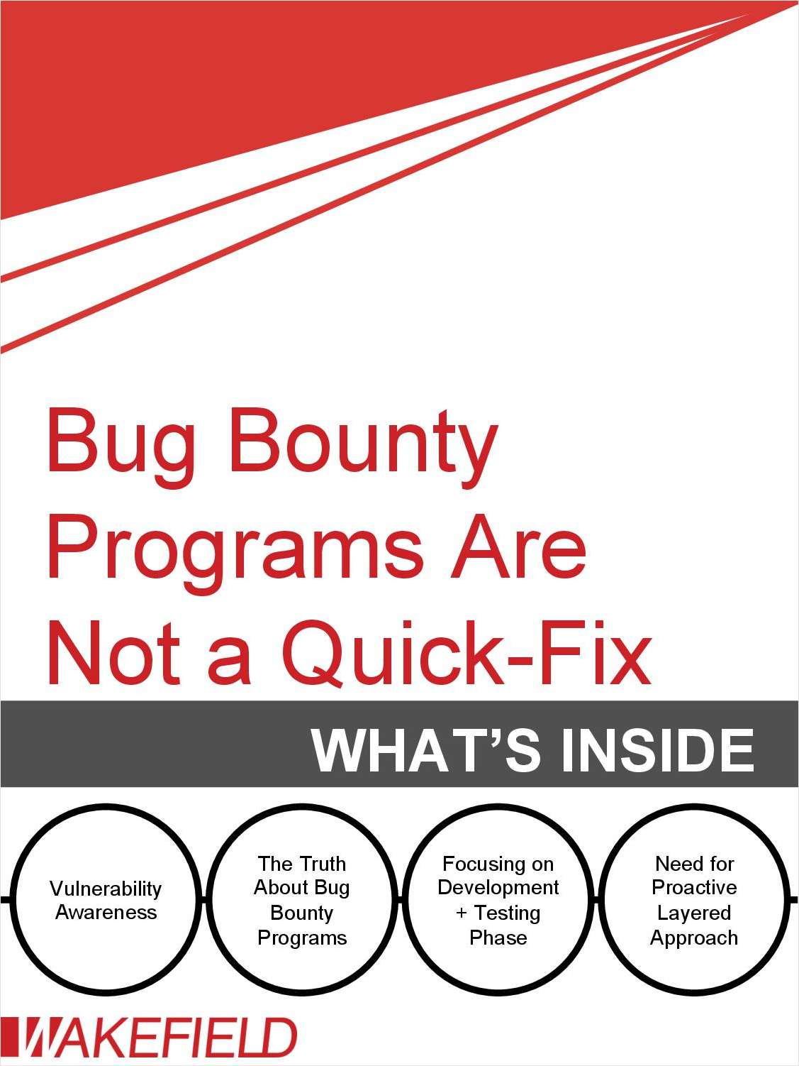 Bug Bounty Programs Are Not A Quick Fix