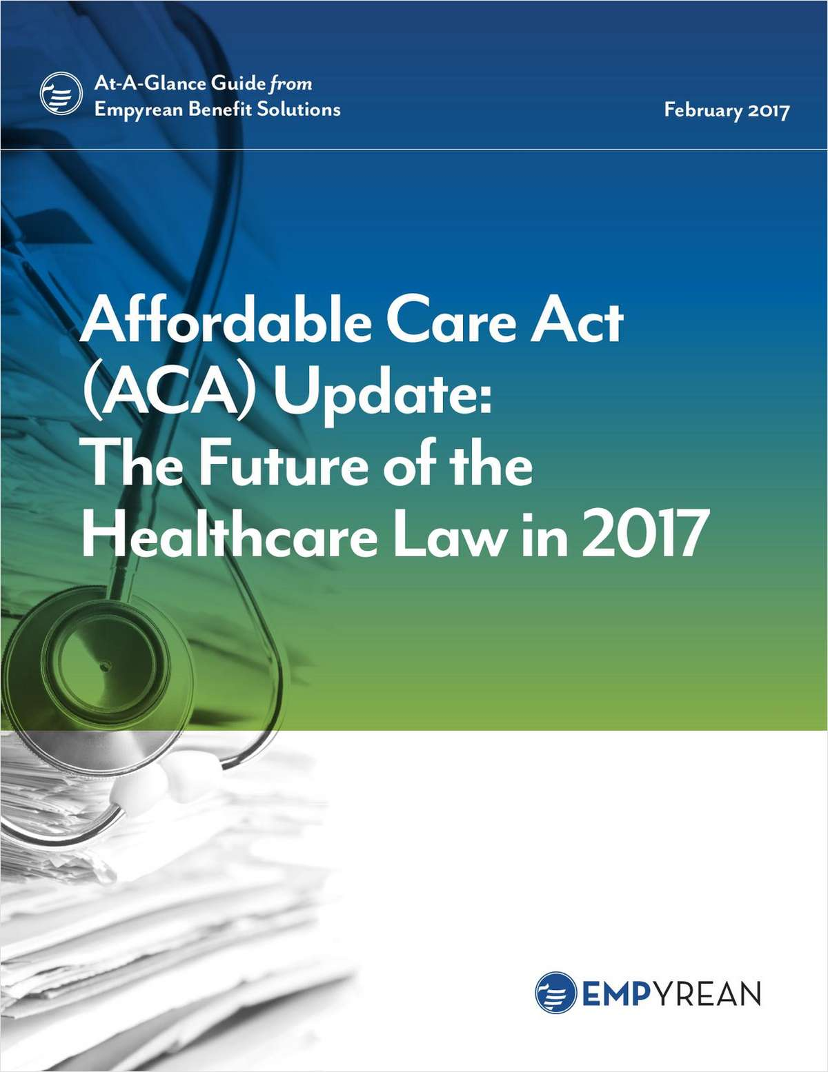 Affordable Care Act (ACA) Update: The Future of the Healthcare Law in 2017
