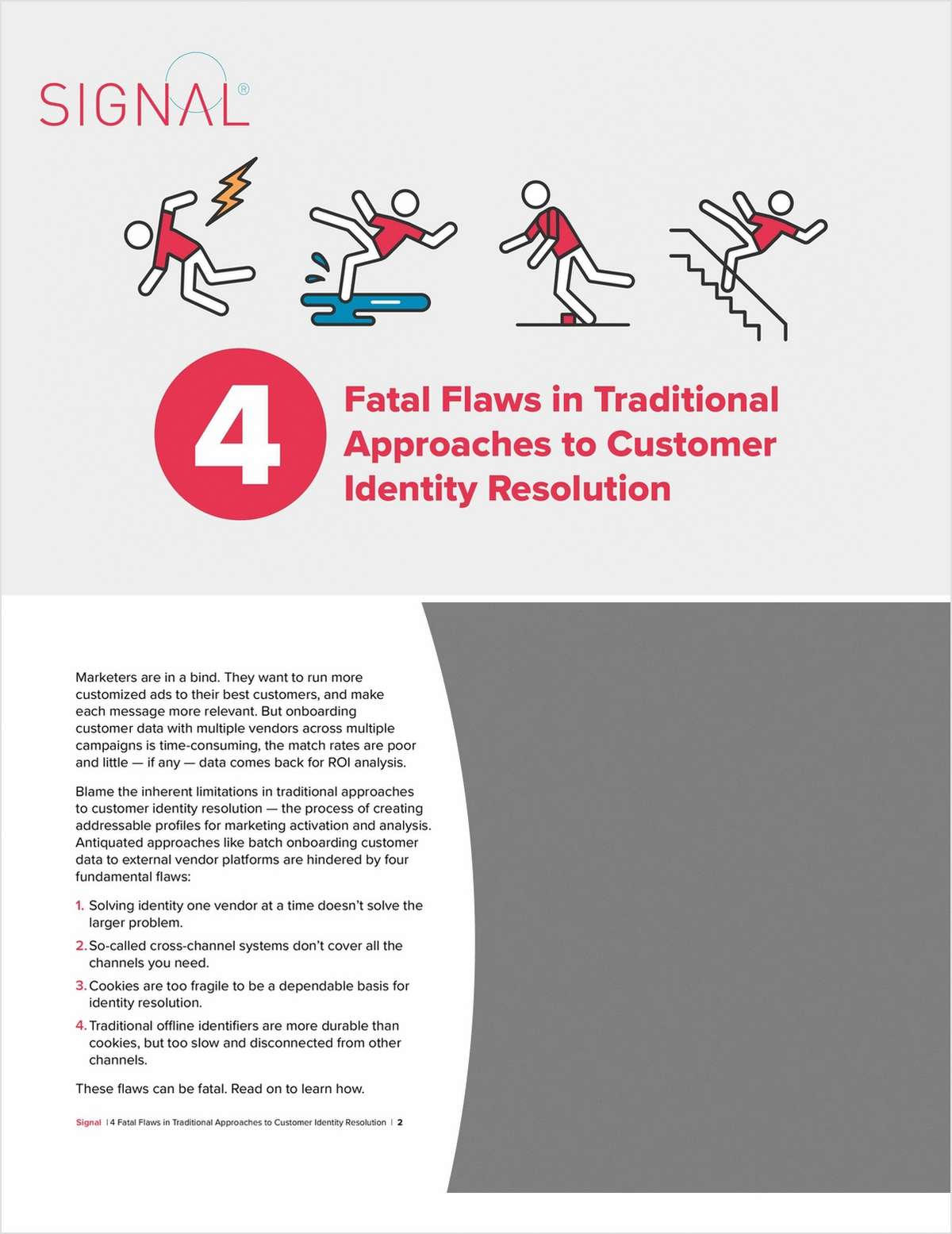 4 Fatal Flaws in Traditional Approaches to Customer Identity Resolution