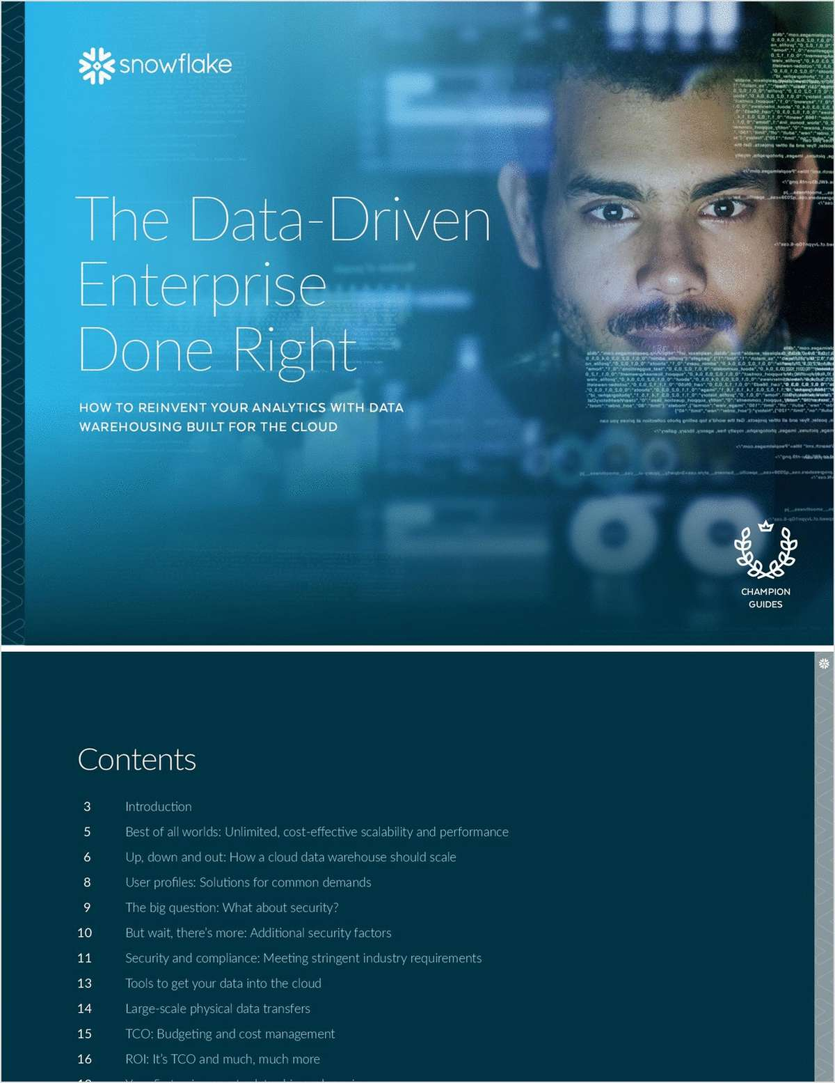 The Data Driven Enterprise Done Right
