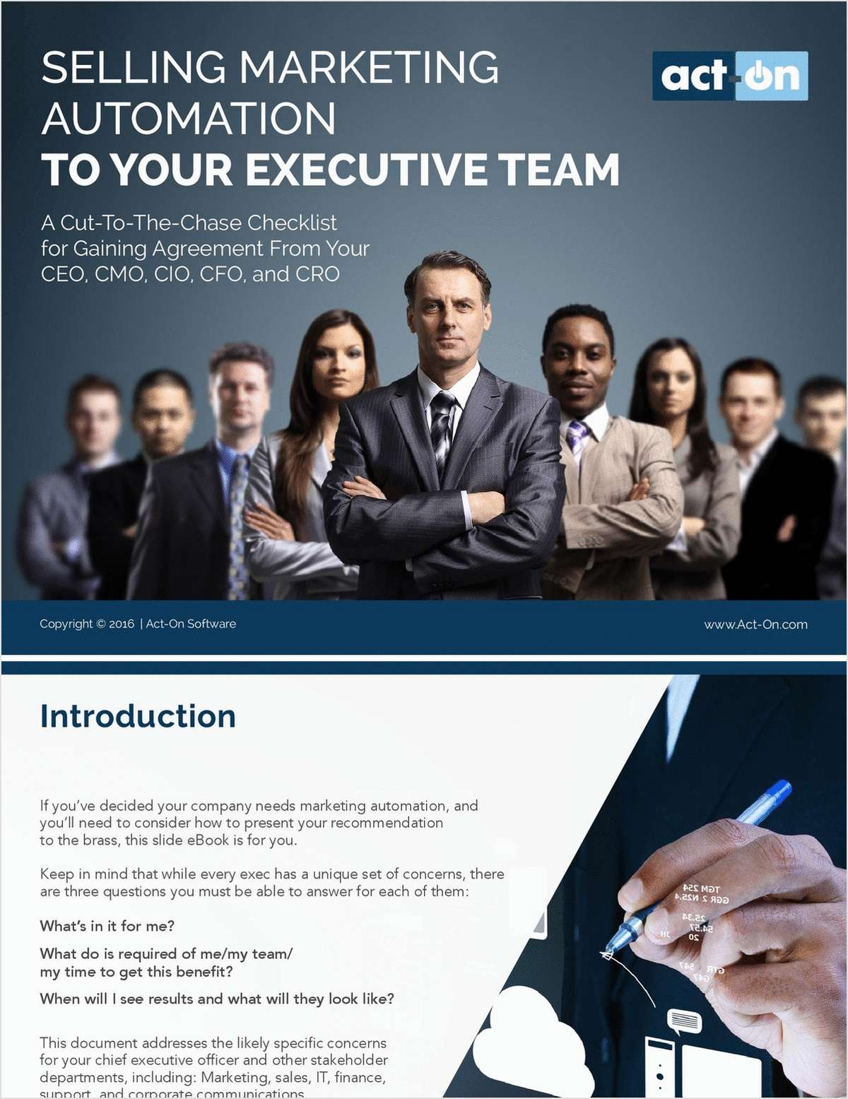 Selling Marketing Automation to Your Executive Team