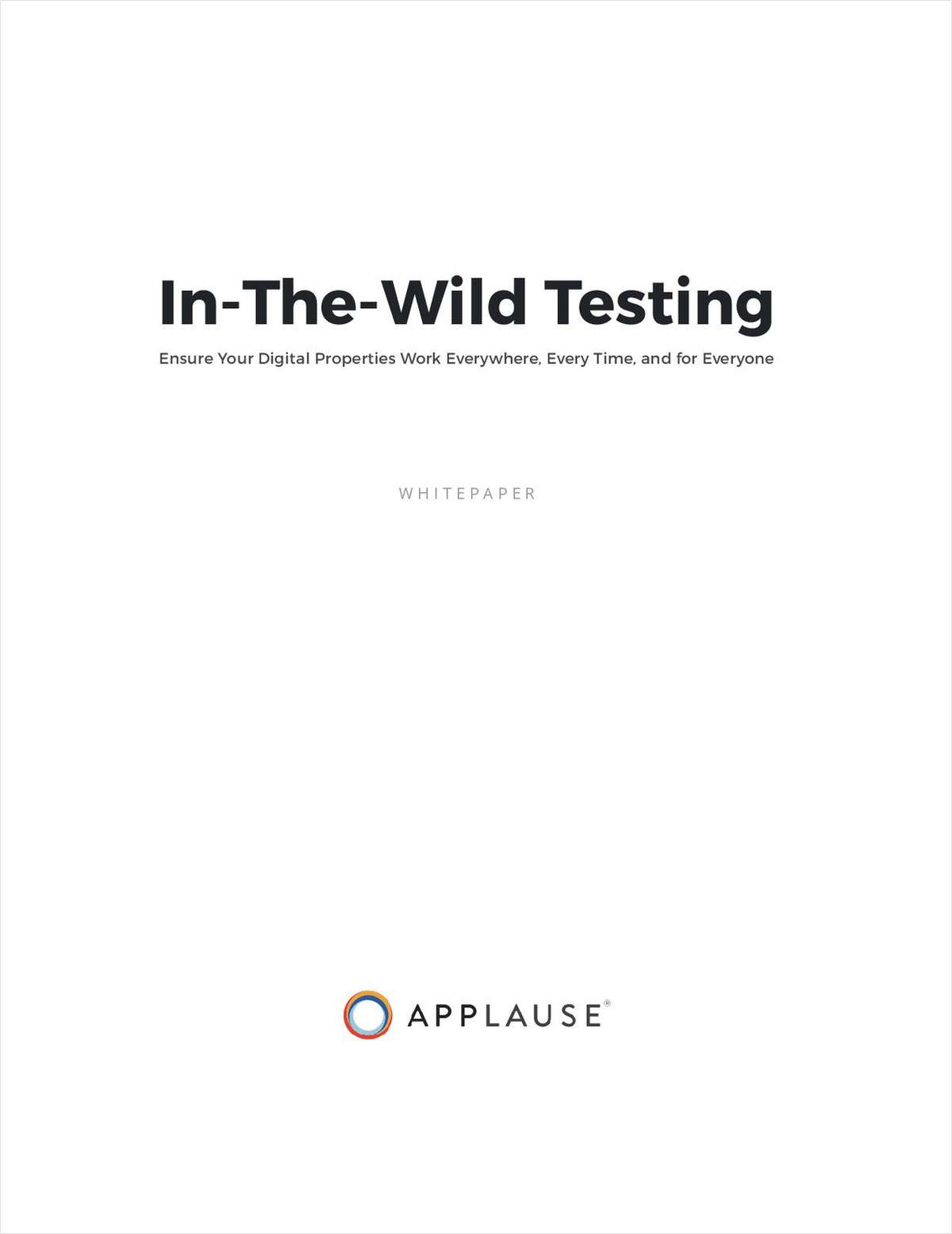 In-The-Wild Digital Testing