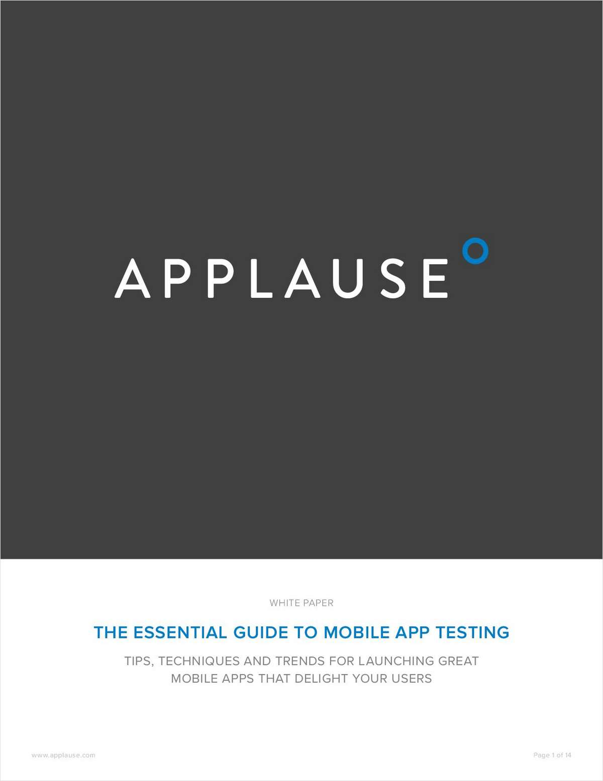 The Essential Guide to Mobile App Testing