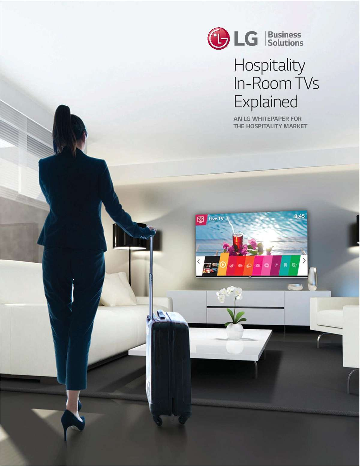 Hospitality In-Room TVs Explained