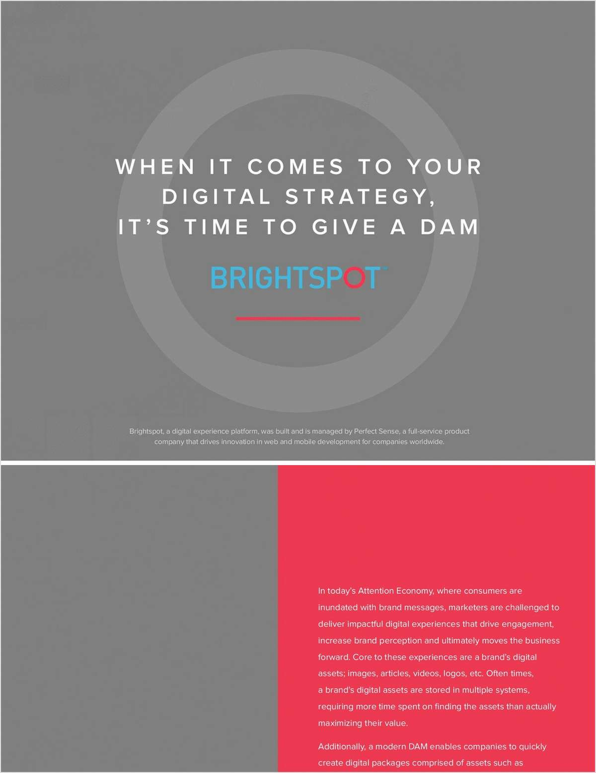 When it Comes to Your Digital Strategy, it's Time to Give a Dam