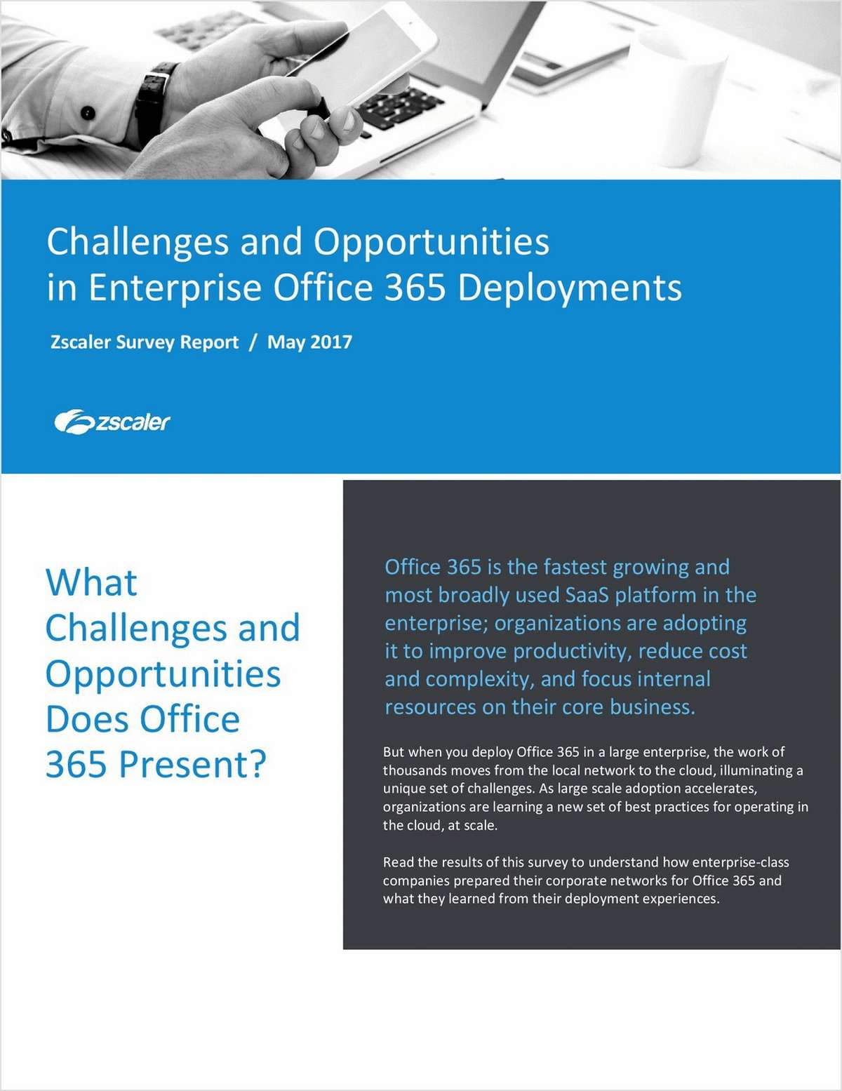 Office 365 Deployment Survey