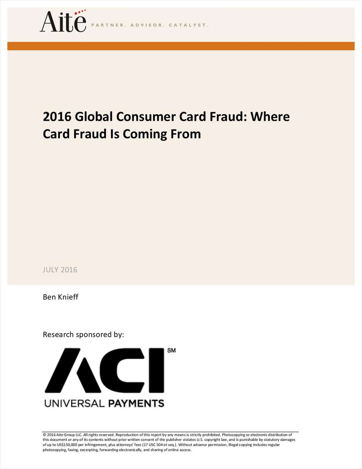 Fraud Survey finds Rising Card Fraud and Eroding Consumer Trust
