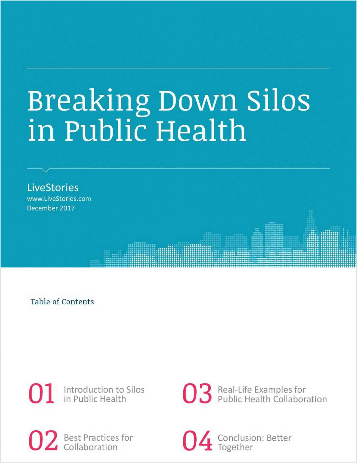 Breaking Down Silos in Public Health