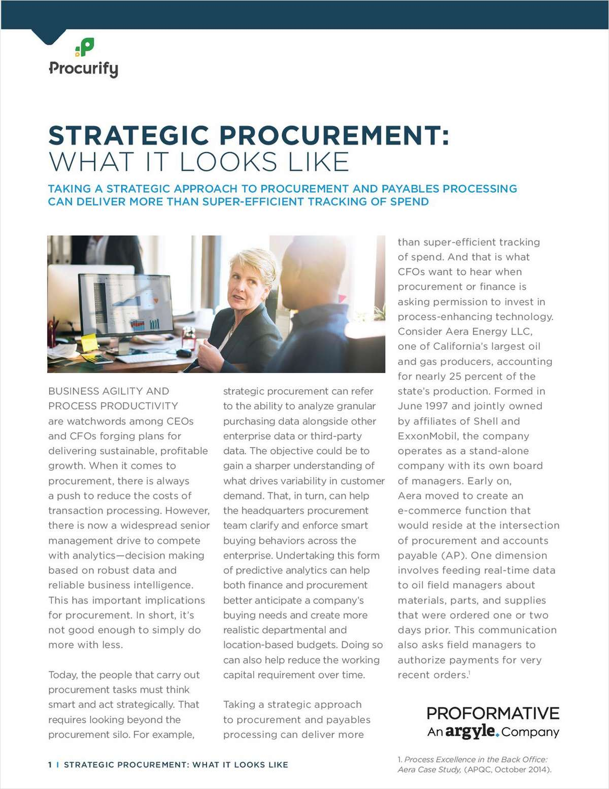 Strategic Procurement: What it Looks Like