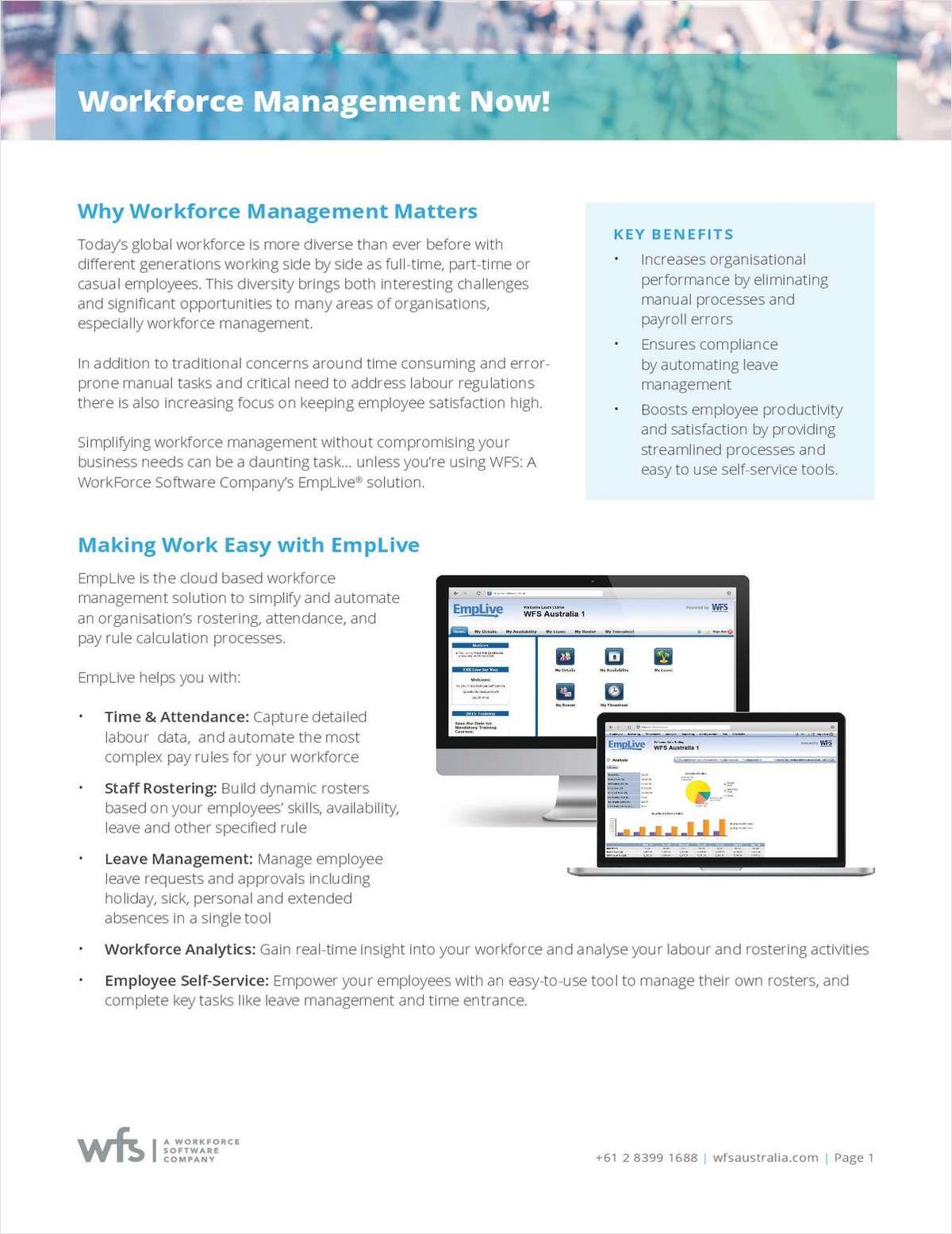 Workforce Management Now!