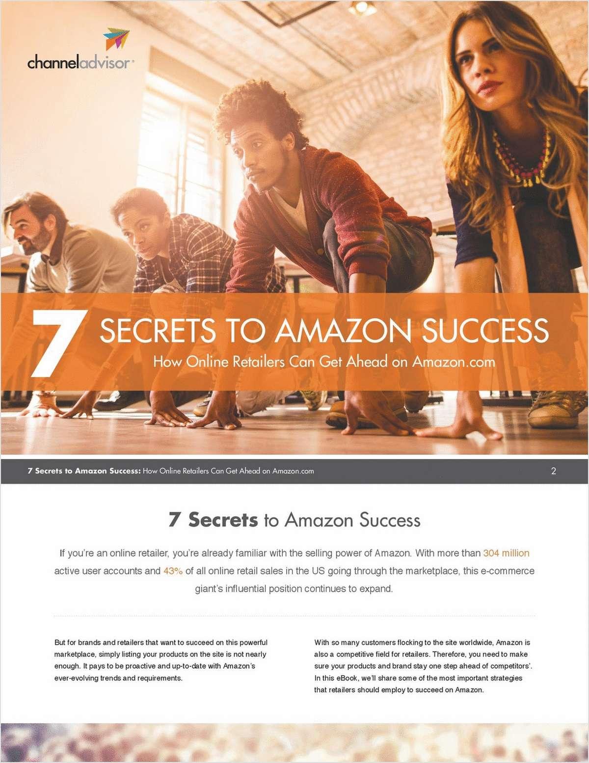 7 Secrets to Amazon Success
