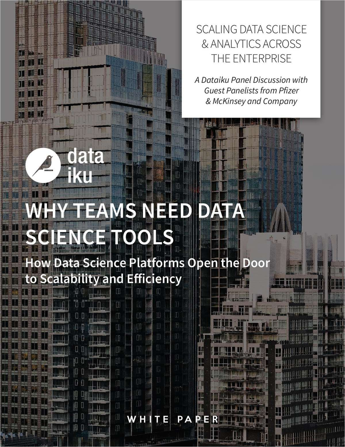 Scaling Data Science And Analytics Across the Enterprise