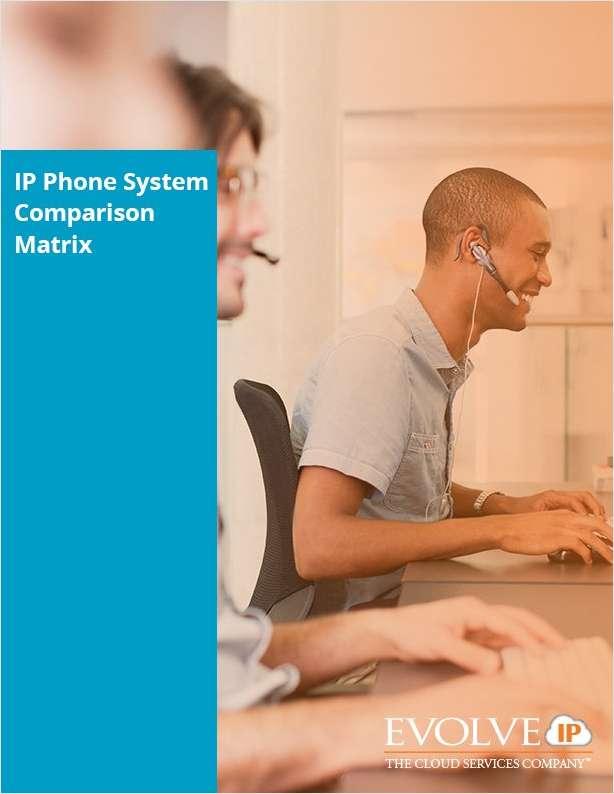 IP Phone System Comparison Matrix