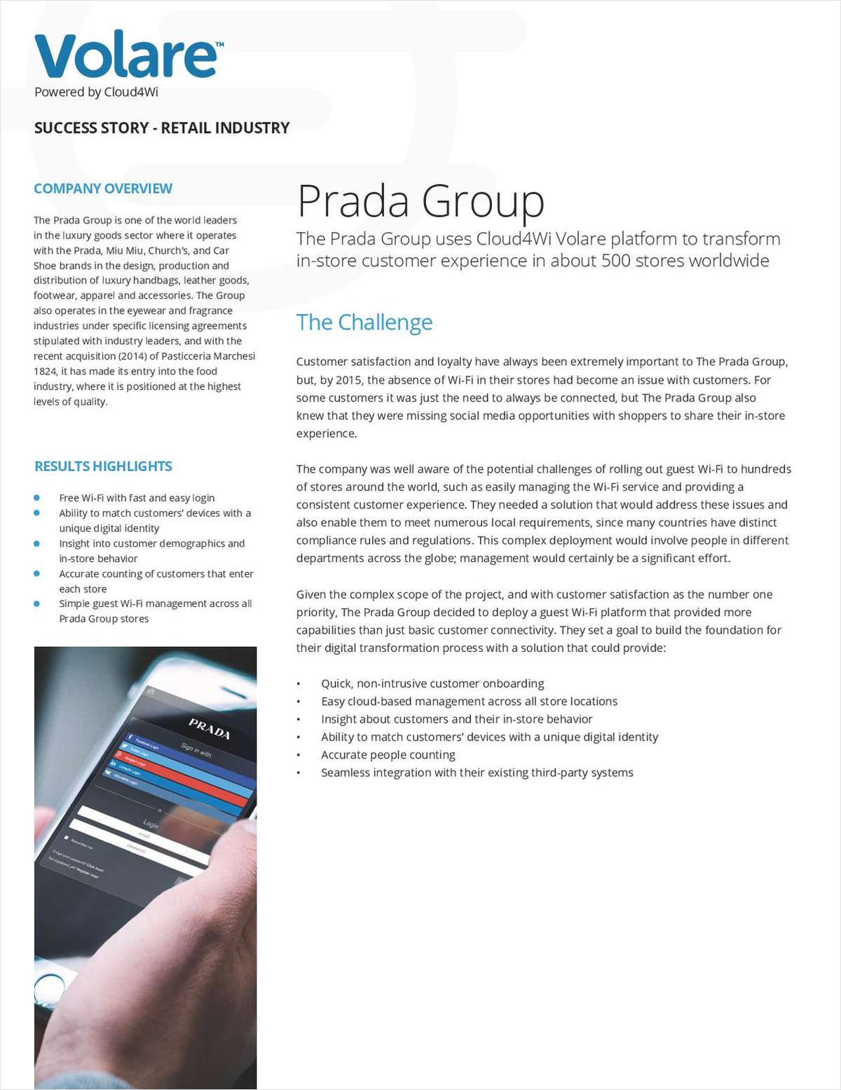 Revolutionizing In-Store Customer Experience: Prada Group Success Story