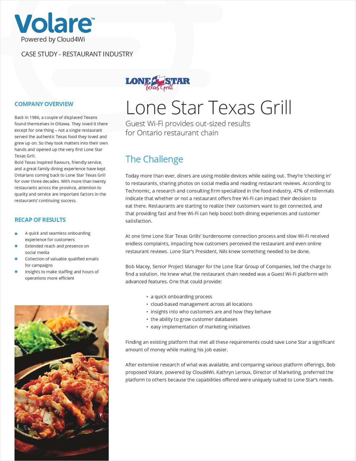 Upgrade Your Customer Experience: Lone Star Texas Grill Success Story