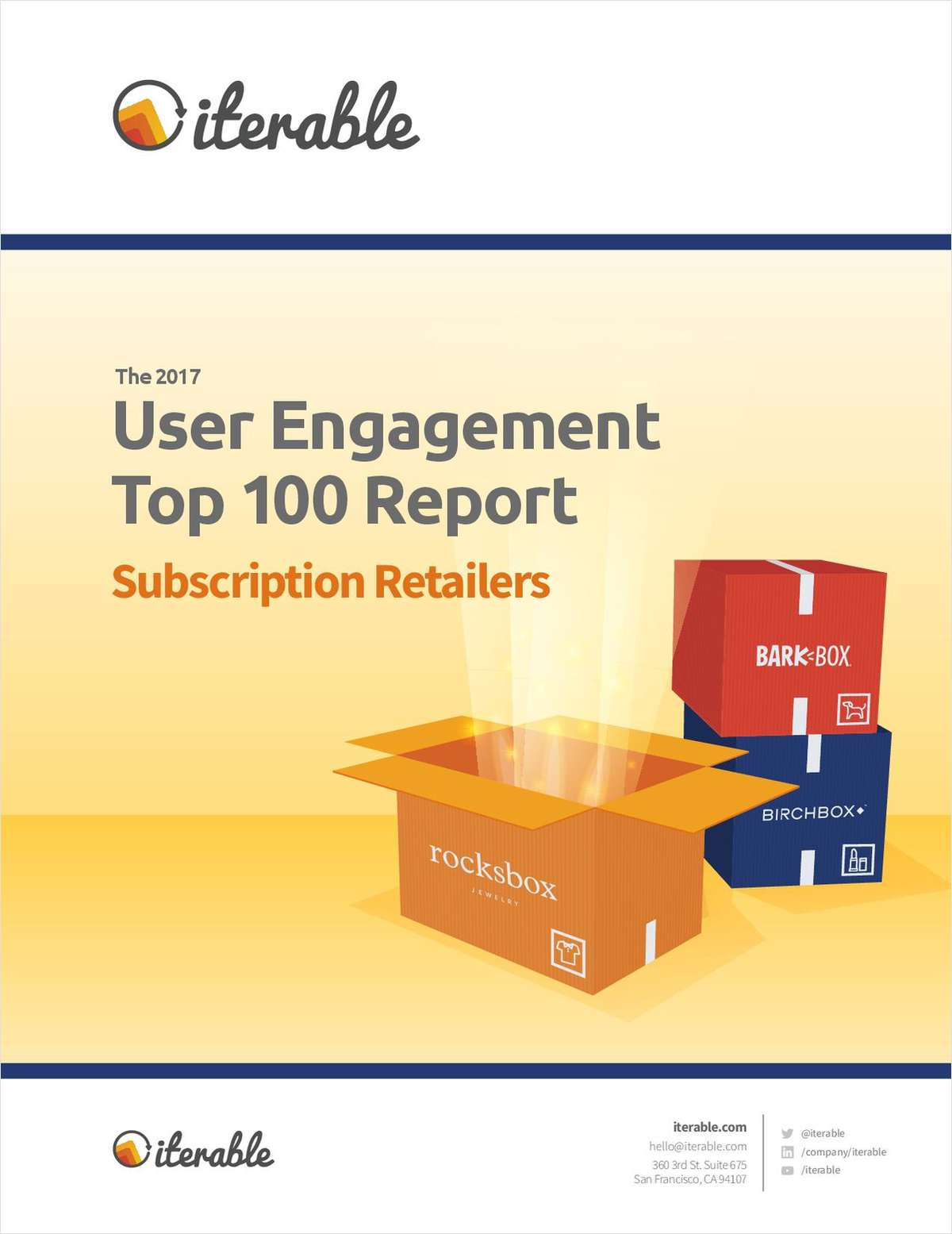 User Engagement Top 100: Subscription Retailers