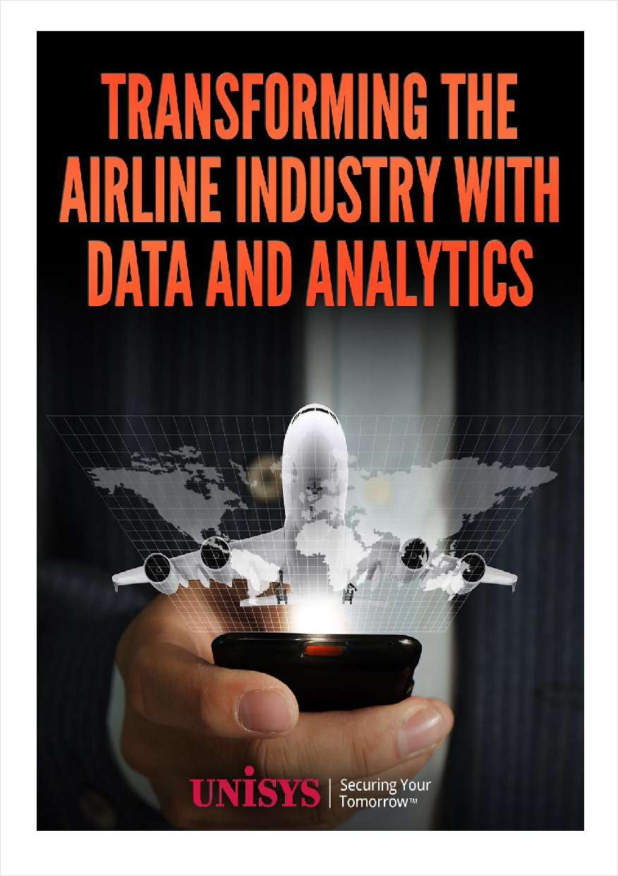 Transforming the Airline Industry with Data & Analytics