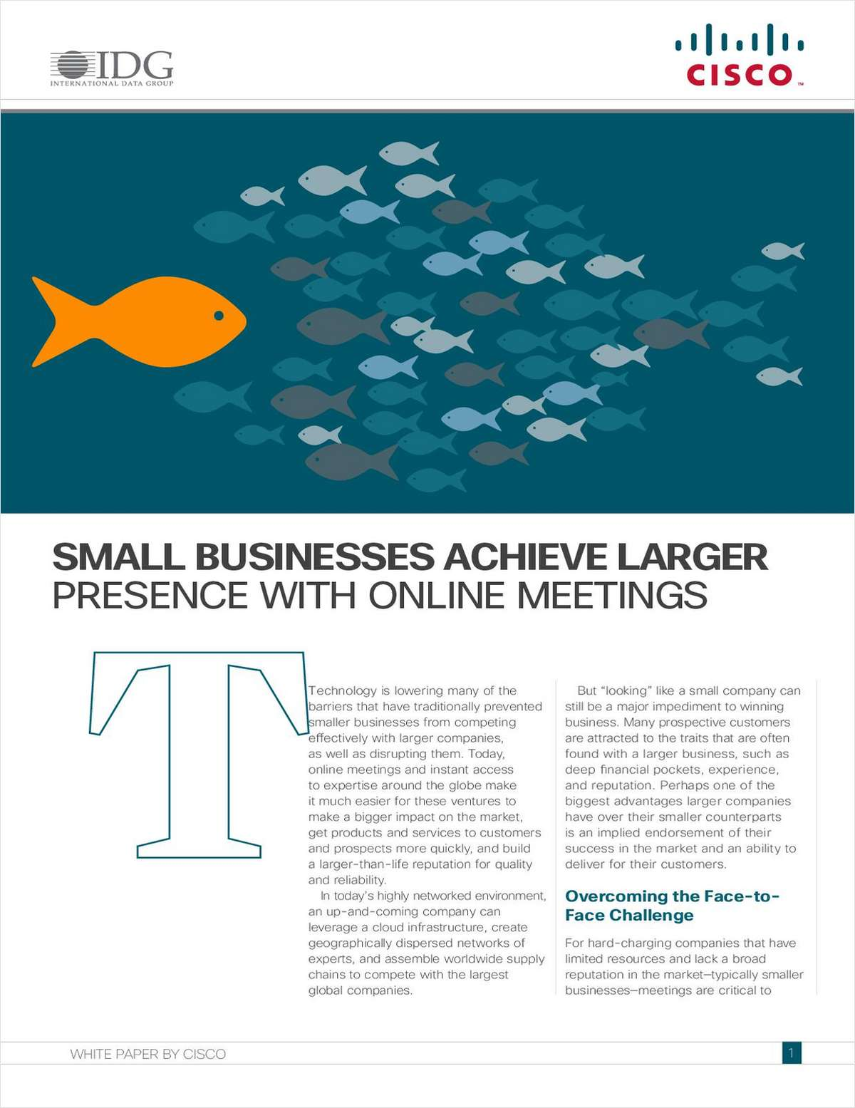How Small Businesses Achieve Larger Presence with Online Meetings