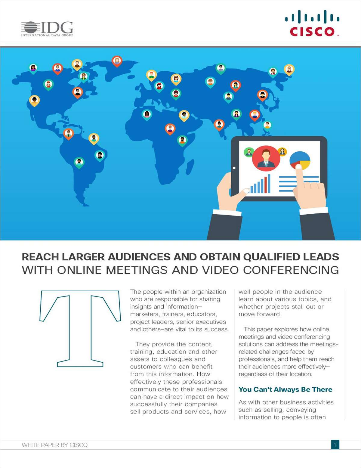Reach Larger Audiences and Obtain Qualified Leads with Online Meetings and Video Conferencing